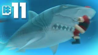 getlinkyoutube.com-MEGALODON Eats Santa    Hungry Shark Evolution - Ep 11