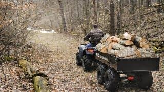 getlinkyoutube.com-ABI Workman XL - Dual Axle ATV Dump Trailer