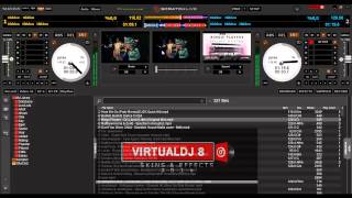 SERATO DJ SKIN V1.3 AND LATEST SKINS & PLUGINS FOR VDJ8