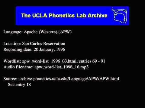 Western Apache audio: apw_word-list_1996_16