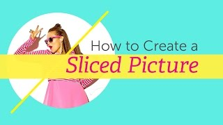 getlinkyoutube.com-How to Create a Sliced Picture With PicsArt