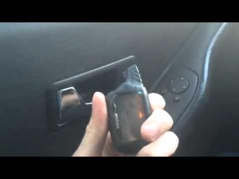 Блокировка дверей с кнопки Audi 80