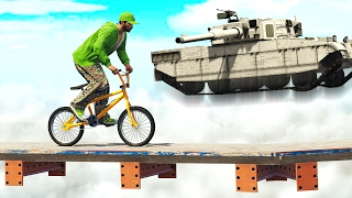 getlinkyoutube.com-DODGE THE ROCKETS OF A FLYING TANK!  (GTA 5 Funny Moments)