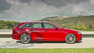 getlinkyoutube.com-► 2016 Audi A4 Avant S line - Footage