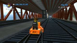 getlinkyoutube.com-LEGO City Undercover (Wii U) - Secret Railroad Handcar (Railroad Tour of LEGO City)