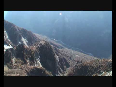 Base Jump from the El Swiss Capitan