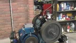 getlinkyoutube.com-My Ozlisteroids JKSON Diesel 8/1 generator/compressor project Pt 1.