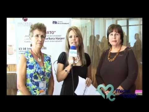 Entrevista con Barbara Harper   Tema:  Parto en agua