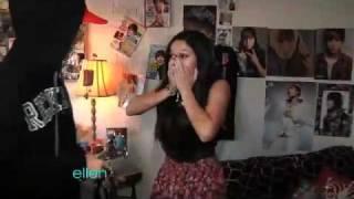 getlinkyoutube.com-Justin-Bieber sorprende a una fan-En Ellen