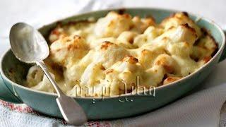 getlinkyoutube.com-طريقة عمل قرنبيط بالجبنة في الفرن