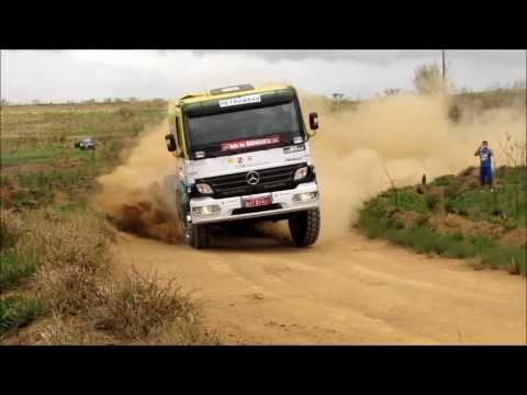 Rally dos Bandeirantes 2010 - Caminhões (slow motion 0.25x)