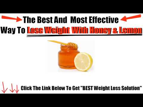 Lemon and Honey For Weight Loss