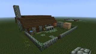 getlinkyoutube.com-#Minecraft-  Steinmetz bauen - mittelalterlich