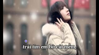getlinkyoutube.com-Ánh trăng nói hộ lòng em - Karaoke Beat