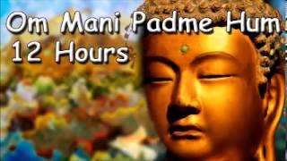 getlinkyoutube.com-SLEEP MEDITATION - Om mani padme hum mantra 12 hour full night meditation with Tibetan Monks