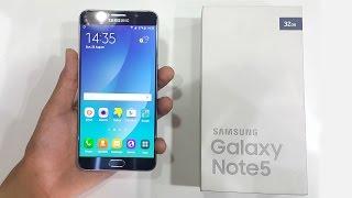 getlinkyoutube.com-فتح صندوق ومراجعة الجالاكسى نوت  5 -  Samsung Galaxy Note 5