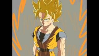 getlinkyoutube.com-Goku Transformations (Animation Test)