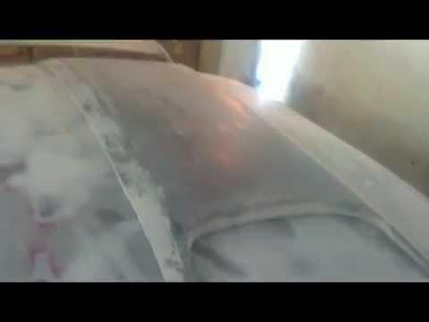 МИР: Шпатлевание и усиление накладки крыши ВАЗ-2110