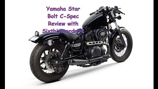 getlinkyoutube.com-Yamaha Bolt Review with 6IOD