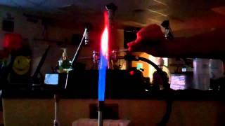 getlinkyoutube.com-MegaLab - Flame Test - Li, Na, K, Ca, Sr, Ba, Cu