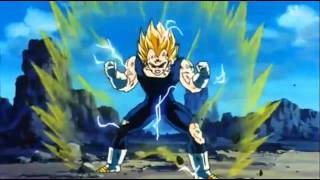 getlinkyoutube.com-DBZ - SSJ2 Goku vs Majin Vegeta (Part 2) [Full Fight] 720p HD