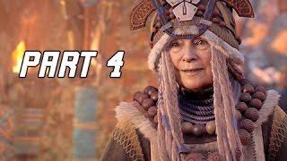 Horizon Zero Dawn Walkthrough Part 4 - Mother's Heart (PS4 Pro Let's Play Commentary)