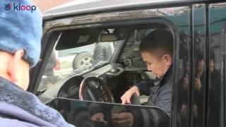Рейд дорожно-патрульной службы по Бишкеку KLOOP.KG Новости Кыргызстана