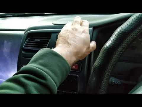 Демонтаж панели приборов Nissan Pulsar