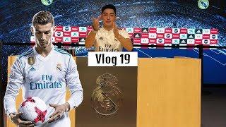 YANGILIK: Ronaldo o'rniga O'zbek bola keldi!   (Real Madrid Vlog 1-qism)    VLOG #19
