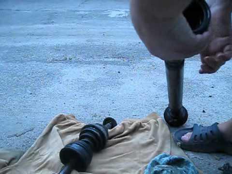 Замена пыльника шруса без снятия сальника подшипника.