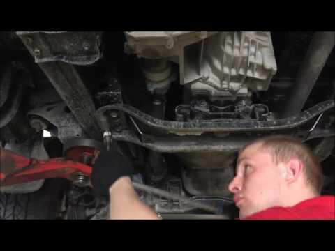 Установка защиты картера двигателя Mitsubishi L 200