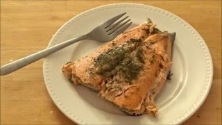 getlinkyoutube.com-How to Cook Fish (Salmon) in the MICROWAVE!