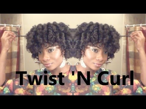 How To | Super Curly Twist N Curl on Natural Hair
