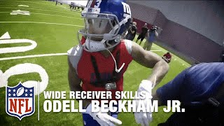 getlinkyoutube.com-Odell Beckham Jr. GoPro Footage |  How to Make the Perfect Catch | NFL