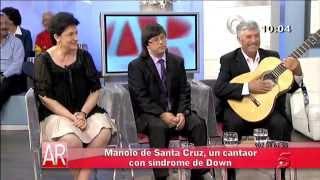 Entrevista y actuación en Telecinco