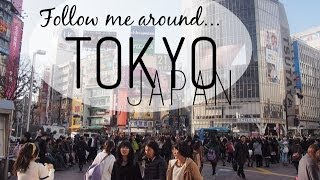 Follow Me Around Tokyo, Japan! - Shibuya, Tsukiji, Alice in Wonderland Cafe, Arabian Rock, Shinjuku