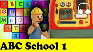 ABC School 1 | Play To Clay with James (PLAY DOH CLASS) - Muffin Songs