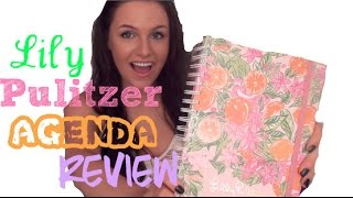 getlinkyoutube.com-Lilly Pulitzer Agenda Unboxing & Review (How I Use My Agenda)