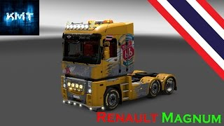 getlinkyoutube.com-Euro Truck Simulator 2 [TH] Renault Magnum Tuning Pack