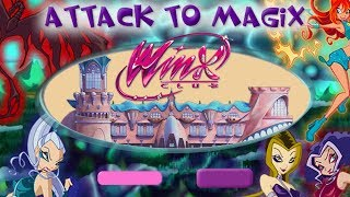 Winx Club -  Winx Attack To Magix (Game for Girls)