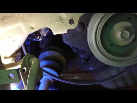 Замена ремня ГУР (гидроусилителя) 3SFE