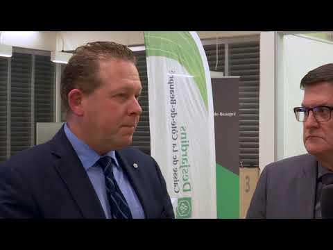Un nouveau siège social pour la Caisse Desjardins de la Côte-de-Beaupré