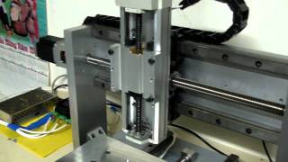 My new home built cnc router, aluminum.MP4