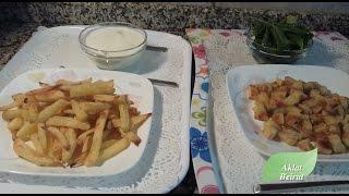 getlinkyoutube.com-كيفية قلي البطاطا المقرمشة بدون زيت Oil free crunchy fries