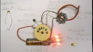 Joule Thief Shorted.10 times more light.