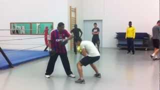 getlinkyoutube.com-ACT 45 - Entrainement boxe anglaise esquive