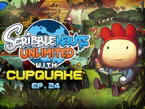 """""""Angry Taco Man"""" Scribblenauts Unlimited Ep 24"""