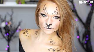 getlinkyoutube.com-Leopard Makeup Tutorial
