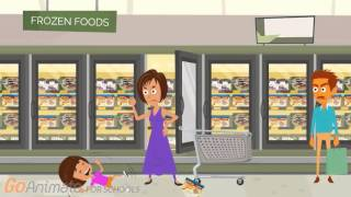 getlinkyoutube.com-Dora Misbehaves at the Supermarket/Grounded (Business Friendly)