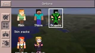 getlinkyoutube.com-วิธีเปลี่ยน Skin Minecraft(สำหรับ0.11.0และ0.11.1)